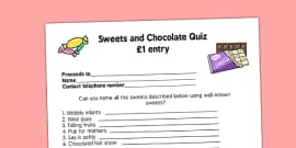T-C-7034-Sweets-and-Chocolate-PTA-Fundraising-Quiz  Page Pta Newsletter Template on