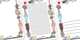 Japanese Page Border