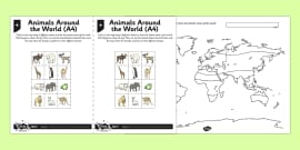 World biomes map geography maps visual aid countries map mapping world climates activity sheet gumiabroncs Gallery