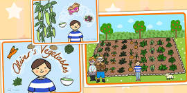 Oliver's Vegetables Story Sequencing