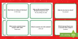 Christmas Cracker Jokes Printable Teacher Made