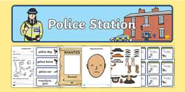 Police Station Role Play Pack