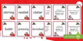 KS2 'Twas The Night Before Christmas Poem - Mouse, Santa ...