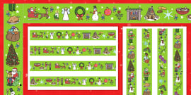 FREE! - Christmas Cards KS2 - Template Resources for ...