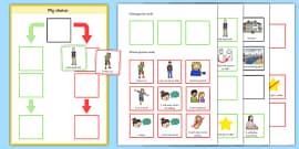 My Choice Editable Behaviour Chart