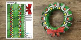T-T-24574-3D-Christmas-Wreath-Display-Printable_ver_6 Santa Letter Template Esl on shopping templates, family templates, new year templates, santa home, food templates, home templates, mother's day templates, thanksgiving templates, santa writing, santa posters, business templates, gifts templates, santa stationary, santa paper template, cookie templates, santa signatures, santa border, contact us templates, review templates, quilt templates,