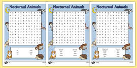 photo relating to Animals Word Search Printable named Animal Wordsearch - animal wordsearch, animal, pets