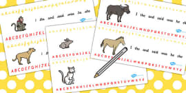 Chinese New Year Story Alphabet Strips