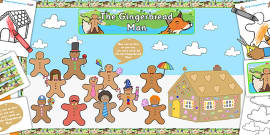 Ready Made Gingerbread Man Display Pack