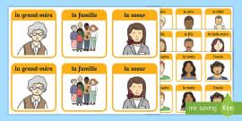 Cartes de vocabulaire : Le lièvre et la tortue