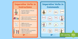 Imperative Verbs Bossy Words Worksheet What Is An Imperative Verb