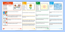 Pinwheel Activity Template and Instructions - summer