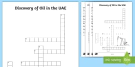 New ali baba and the forty thieves speech bubbles activity discovery of oil in the uae crossword ccuart Gallery