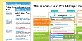 * NEW * EYFS Houses and Homes Bumper Planning Pack Overview