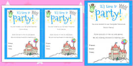 design a party invitation template design design a party