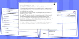 Tom's Midnight Garden Inference Activity Sheets