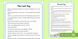 'oi' and 'oy' Phoneme Spotter Story