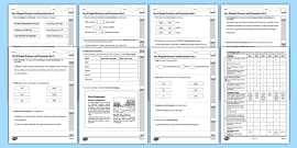 Year 4 English Grammar and Punctuation Practice Test Pack - test