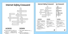 Internet Safety Word Search Internet Safety Word Search Words