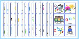 Australia - Visual Timetable