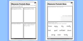 Character profile bean activity to support teaching on fantastic character profile bean activity sheet to support teaching on fantastic mr fox solutioingenieria Image collections