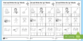 FREE! - Letters And Sounds Workbook Y Z ZZ QU - letters, sounds ...