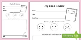 Please write a review template