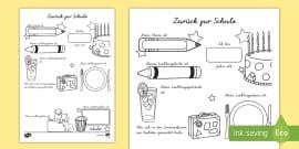 Einstieg in das neue Schuljahr Materialienbündel - neues