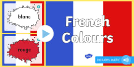 French Colours PowerPoint