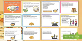 * NEW * UKS2 Pancake Day What If? Maths Challenge Cards