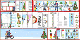 Resource Pack to Support Teaching on The Jolly Christmas Postman