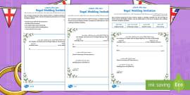 New ks2 a royal wedding quiz powerpoint powerpoint royal wedding invitation writing template arabicenglish stopboris Image collections