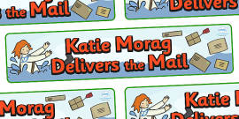 Display Banner to Support Teaching on Katie Morag Delivers the Mail