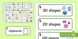 Panda Themed Editable Classroom Resource Labels