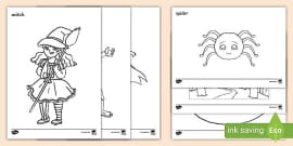 FREE! - Halloween-Themed Mindfulness Colouring Sheets for Kids