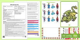 EYFS Can You Help a Dragon? Melting Ice Experiment Adult Input Plan and Resource Pack