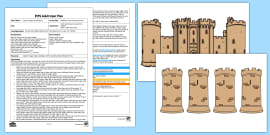 * NEW * EYFS Building a Turret Counting Activity Adult Input Plan and Resource Pack