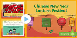 Chinese New Year Lantern Festival PowerPoint