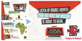 Red Nose Day 2015 Ngosa Assembly