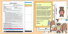 Goldilocks Size Ordering EYFS Adult Input Plan and Resource Pack