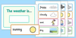 Weather Display Set