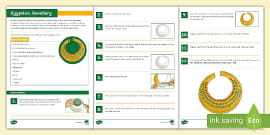 Ancient Egyptian Recipes Food And Drink Activity Pack