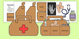 Role Play Doctors Bag