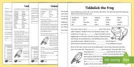 Tiddalick the Frog Story