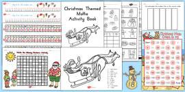 Australia - Christmas Maths Pack