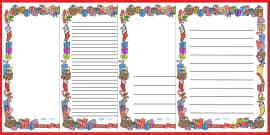 Present (Gift) Page Borders