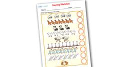 Farmer Duck Counting Sheet