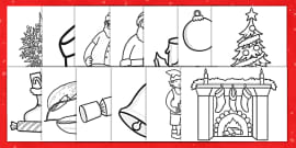AU T 2189 Christmas Colouring Pages ver 1