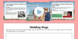 * NEW * KS2 Planning A Royal Wedding Activity Pack