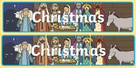 Christmas Display Banner